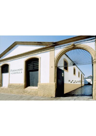 Blick auf das Weingut Fernando de Castilla