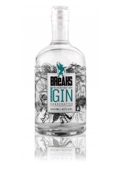 Breaks Premium Dry Gin handcrafted