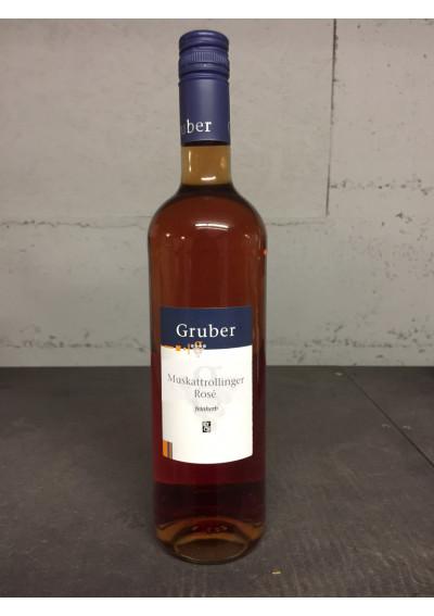 Muskattrollinger 2017 Rosé Weingut Gruber Eschenau
