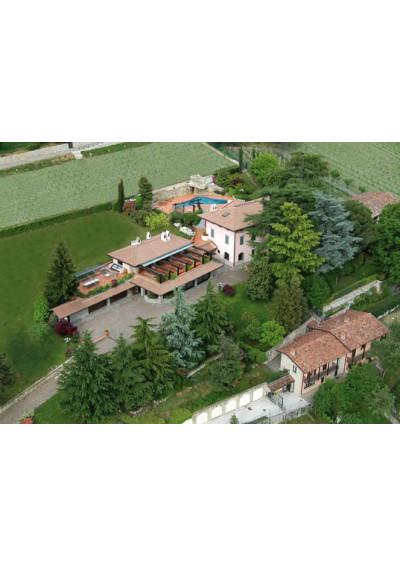 Caminella - Luftbild von Caminella in Cenate Sotto