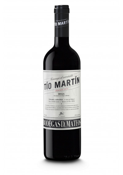 Tio Martin Crianza 2016 Bodegas Mateos Rioja