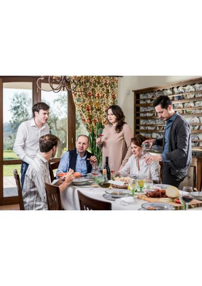Weinprobe der Familie des Winzer und Winemakers Rocco Passetti.