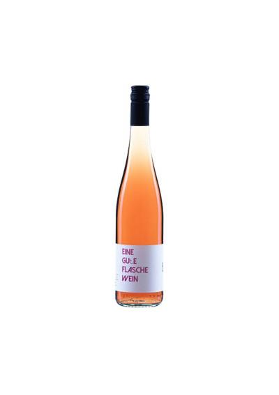 Eine gute Flasche Wein Rosé 2016 trocken Via Eberle