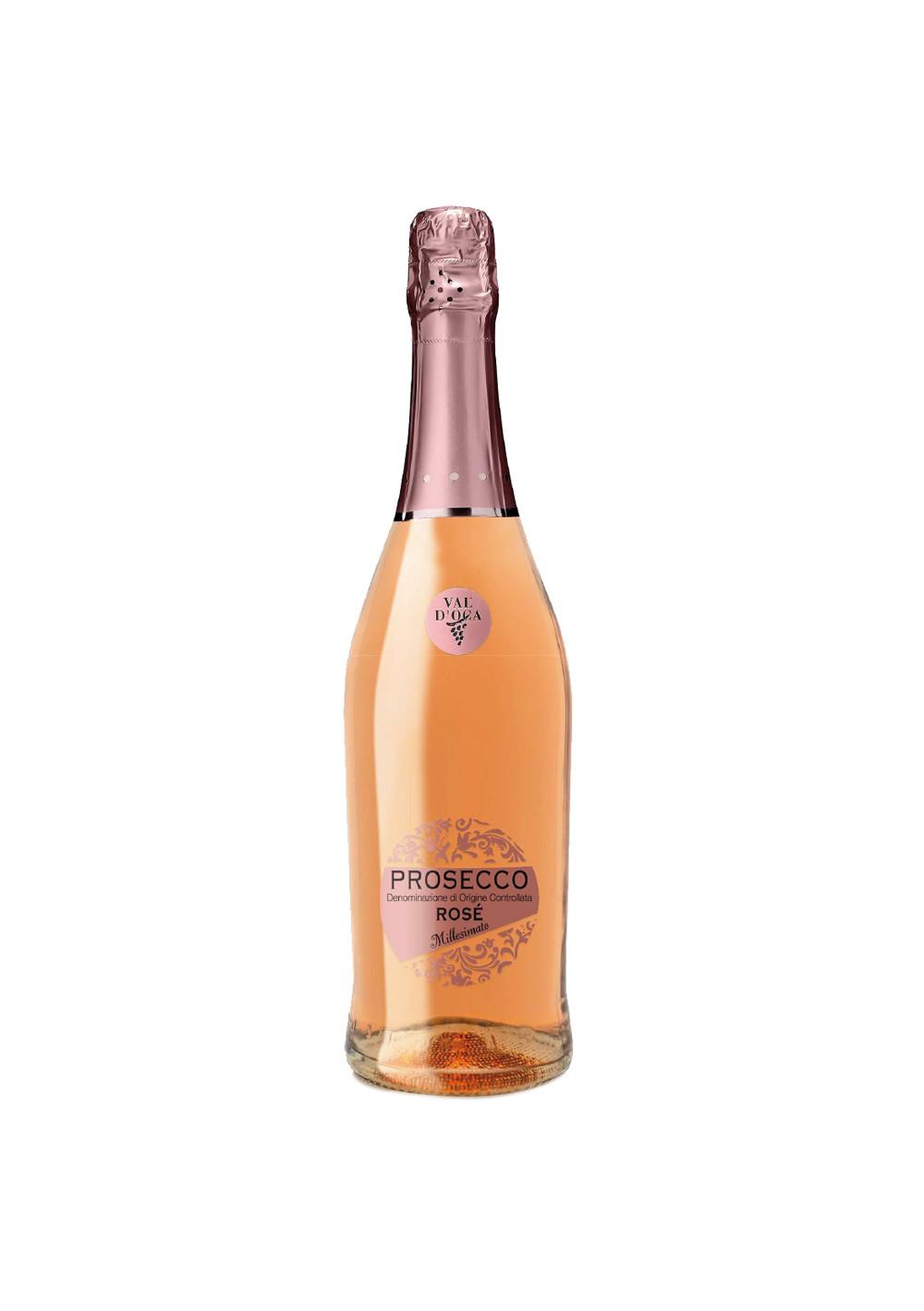 Prosecco Spumante Rosé Extra Dry Millesimato DOC Val d'Oca