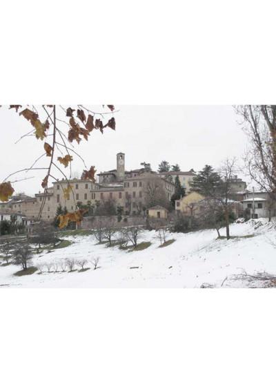 Castello di Neive im Winter